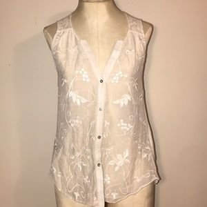 3/$25 💰Like new! Tiny by Anthro off-white lace XS